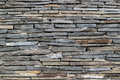 Wall of gray stone texture a rectangular Stock Images