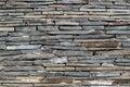 Wall of gray stone texture Royalty Free Stock Photo