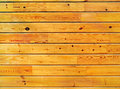 Wall lateral wooden lining boards front view Royalty Free Stock Images