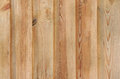 Wall made of wooden planks close up Royalty Free Stock Image