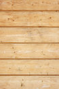 Wall made of wooden planks close up Stock Photo