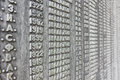 Wall of names tomsk russia august memorial dedicated to the casualties world war ii on august in tomsk russia Stock Photos
