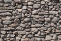 The wall of natural stone Royalty Free Stock Photo