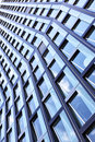 Wall of new office building Royalty Free Stock Image