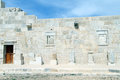 Wall of odeon in patara turkey Royalty Free Stock Photos