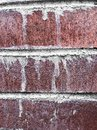 Wall of old brickwork Royalty Free Stock Photo