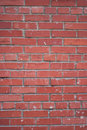 Wall of red brick Stock Photography