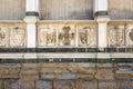 Wall Santa Maria Novelle close up Royalty Free Stock Photo