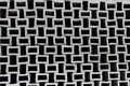 Wall of squares in black and white. a wonderful background. abstract construction and engineering thought Royalty Free Stock Photo