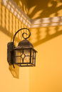 Wall Street Lamp Royalty Free Stock Photography