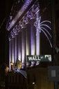 Wall Street Royalty Free Stock Photo