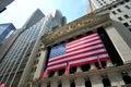 Wall Street Stock Exchange Royalty Free Stock Photo