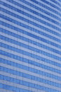 Wall of tall building or glass of skyscraper background. Royalty Free Stock Photo