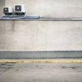 Wall texture urban background empty street Stock Photography