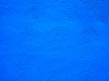 Wall textured blue stucco arc pattern background photo image Royalty Free Stock Photo