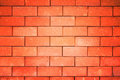 Wall walls made ​​of brick stone sand and cement Royalty Free Stock Photo