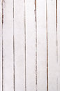 Wall of white planks painted wooden Stock Photos
