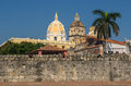 Walled town of cartagena colombia south america Royalty Free Stock Image