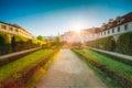 Wallenstein Palace and Garden in Prague, Czech Royalty Free Stock Photo