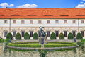 Wallenstein Palace, in the Lesser Quarter -Mala Strana- of Prague Royalty Free Stock Photo