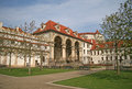 Wallenstein Palace and Wallenstein Garden in Prague, Czech republic Royalty Free Stock Photo