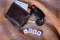 Wallet and Keys Loss Royalty Free Stock Photo