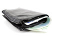 Wallet with Norwegian money Stock Image