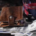 Wallet And Playing Cards Royalty Free Stock Photo