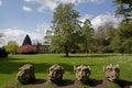 Wallington Hall gargoyles Royalty Free Stock Photo