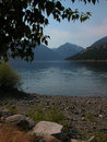 Wallowa lake oregon is located in western Royalty Free Stock Photos