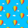 Wallpaper a balloon Royalty Free Stock Image