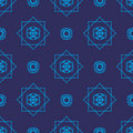 Wallpaper blue tribal Stock Images
