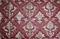 Wallpaper damask seamless floral pattern royal Stock Images