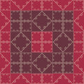 Wallpaper red geomtry Royalty Free Stock Image