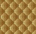 Wallpaper seamless gold and brown Stock Image