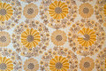 Wallpaper from the seventies Royalty Free Stock Photo