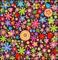 Wallpaper With Summer Flowers