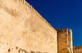 Walls of the Royal Palace of Meknes, Morocco Royalty Free Stock Photo