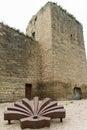 Walls of santo domingo de la calzada la rioja spain st james way Royalty Free Stock Photography