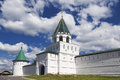 Walls and towers of the Ipatiev Monastery, Kostroma, Royalty Free Stock Photo