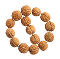 Walnut allergy Stock Photo