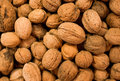 Walnut background Royalty Free Stock Photography