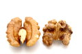 Walnut kernel Royalty Free Stock Photography