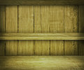 Walnut Wooden Shelf Background Royalty Free Stock Photography
