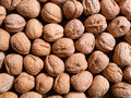 Walnuts background Royalty Free Stock Photography