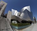Walt Disney Concert Hall in Los Angeles, CA Royalty Free Stock Image