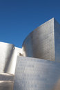 Walt disney concert hall in los angeles california downtown Royalty Free Stock Images