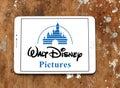 Walt disney pictures logo Royalty Free Stock Photo