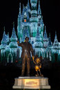 Walt Disney World Mickey Mouse Statue Royalty Free Stock Photo