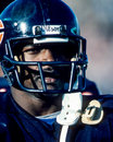 Walter payton chicago bears former superstar image taken from color slide Stock Photography